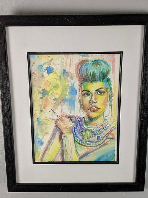 Electric Lady by Trenita Finney