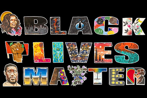 Black Lives Matter Collaboration Print
