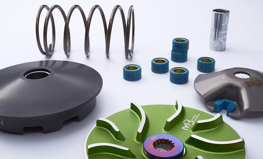 pro03_MB Black POWER Pulley Pack Kit Set