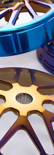 MB Forging Blue Titanium Clutch Bell