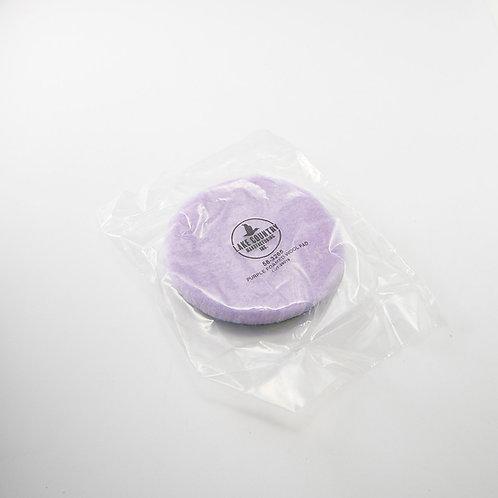 LC 6.5吋紫色厚羊毛盤