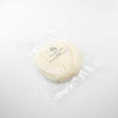 LC 6.5吋白色羊毛盤