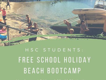 HSC FREE Beach Bootcamp