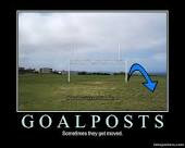 Those Moving Goal Posts