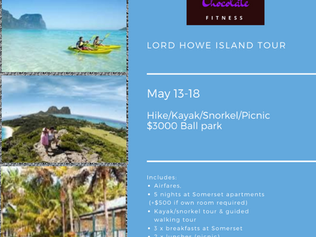 A Cure for the Travel Bug - Lord Howe Island in May