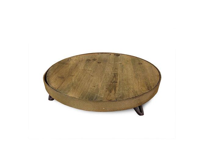 Rustic Barrel Top Riser Small - 30 cm