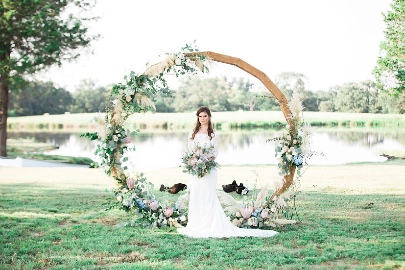 Wooden Wedding Wheel
