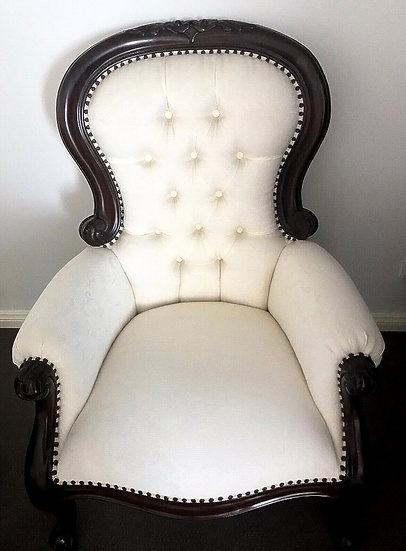 Large Vintage French Arm Chair