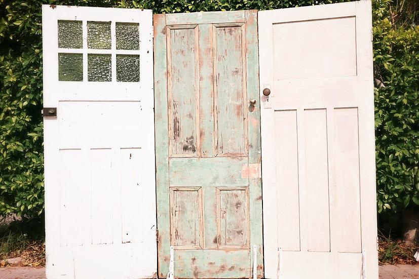 Vintage Federation Door Backdrops - 3 Doors