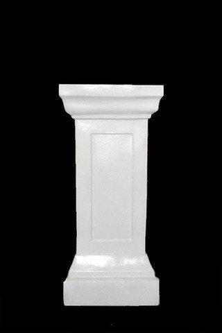 Medium White Gloss Pedestal Stand