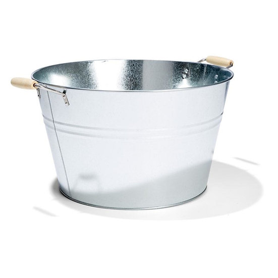 20L Galvanised Basin