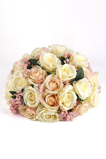 41 Rose Head Half Ball Shape Display Bouquet