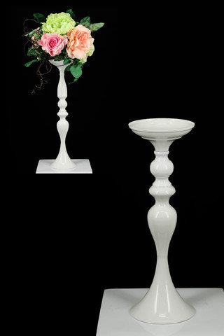 Medium White Table Pedestal
