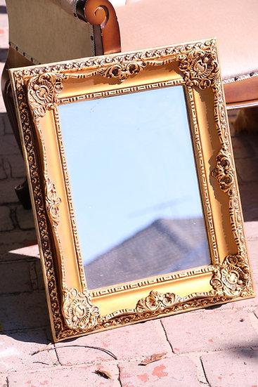 Vintage Gold Ornate Framed Mirror