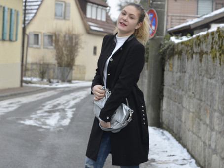 An special Winter Look- New Zara Jeans
