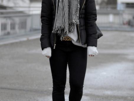 Oversize Knit und Skinny Jeans