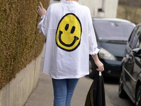 XXL Smiley Shirt & Bomber