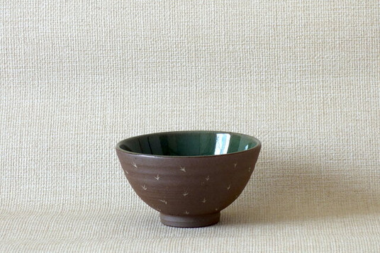 象嵌青磁釉碗単品