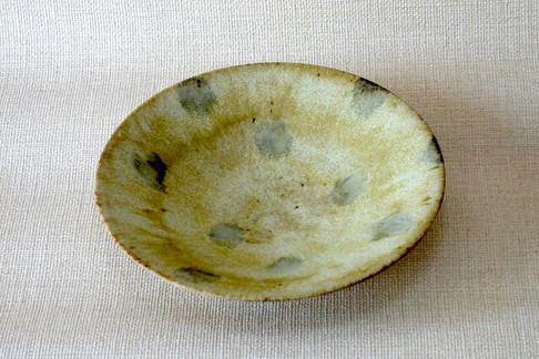 萌黄釉鉢(水玉)