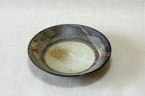 鉢 (赤絵とんぼB)