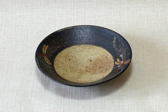 鉢 (赤絵とんぼC)