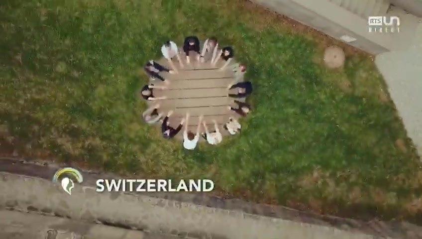 Cake O'Phonie - Cœurs helvétiques (Swiss hearts) par la RTS