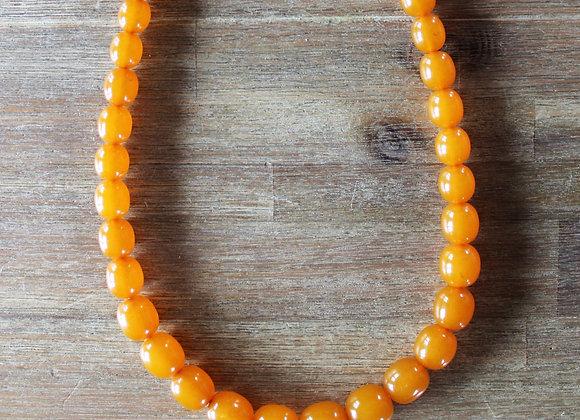 Starožitný jantarový náhrdelník