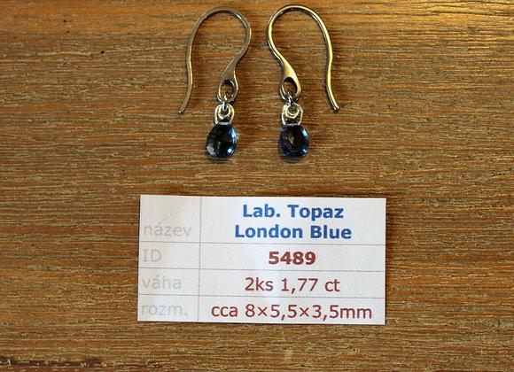 Laboratorní Topaz London Blue  PRODÁNO