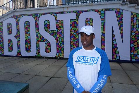 Jonathan Boston Marathon 2014