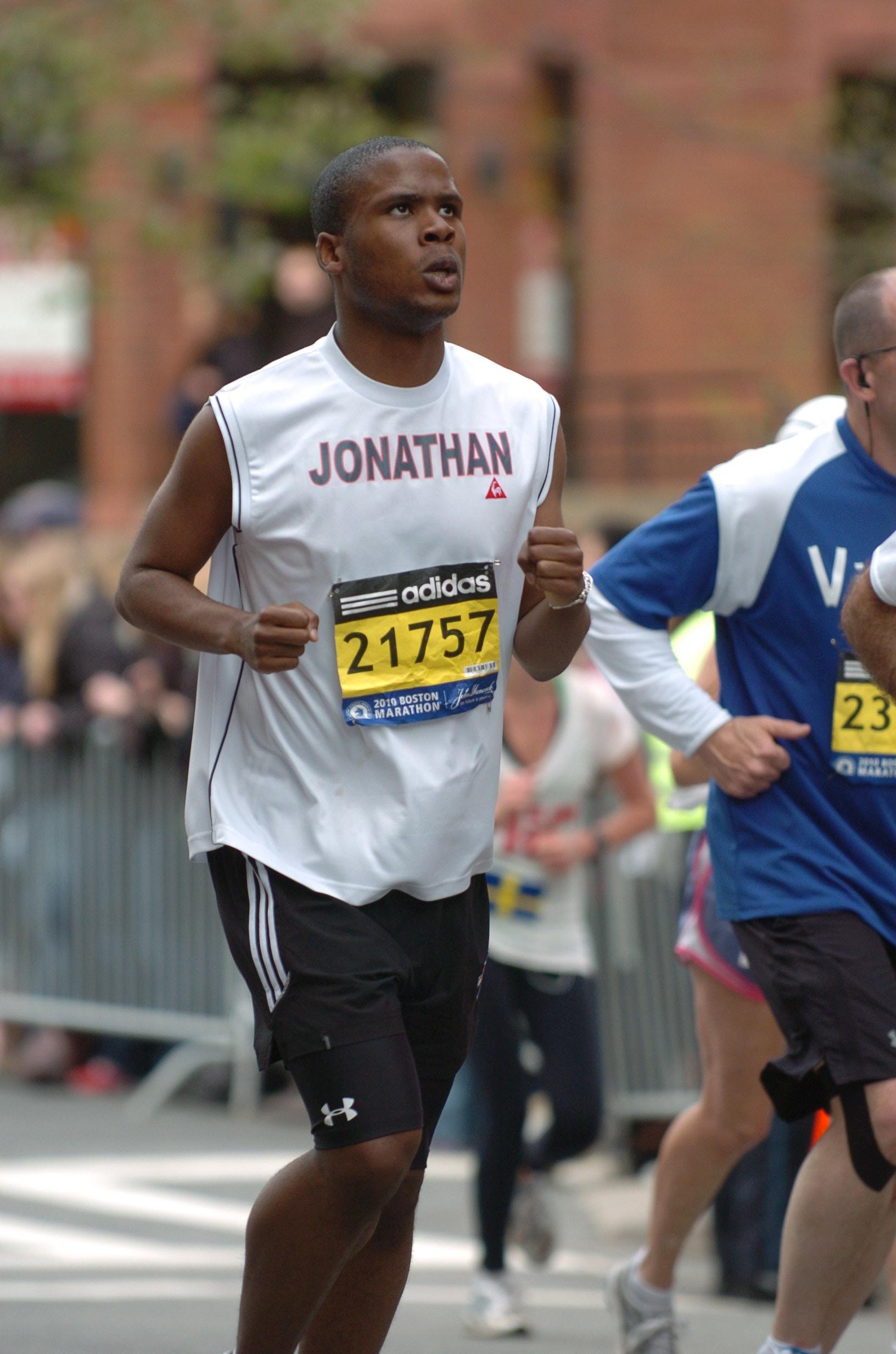 The Boston Marathon 2010
