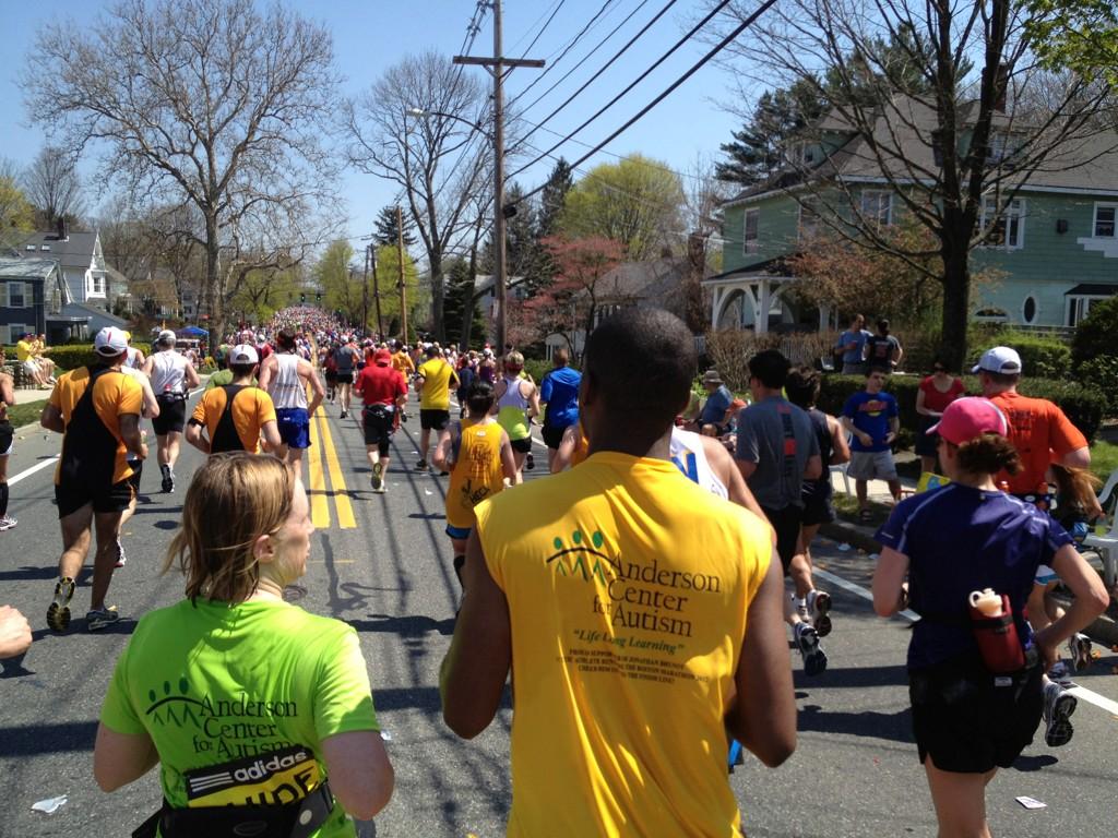 The Boston Marathon 2012