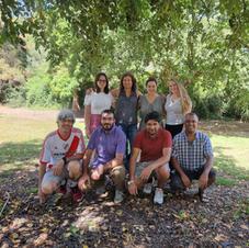 Annual Group Asado at Kibbutz Yakum