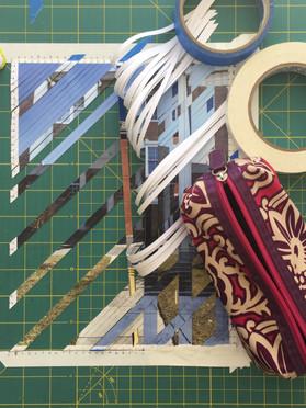 Sampling a diagonal weave.