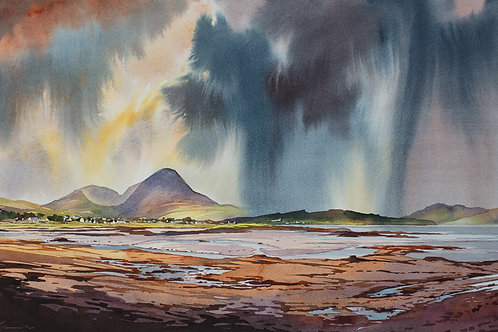 Showers, heavy at times, Broadford Bay - Skye