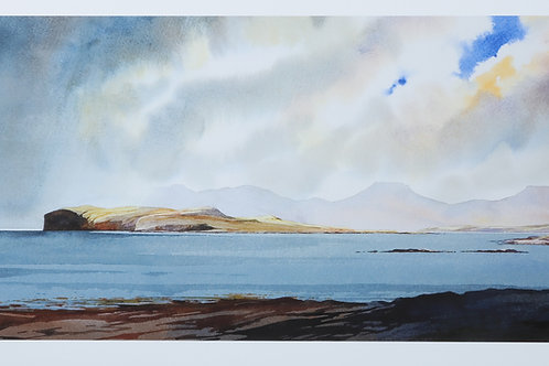 Strong south-westerlies - Loch Bracadale - Skye