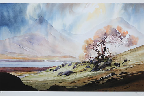 A prolonged spell of drizzly rain - Loch Slapin - Skye