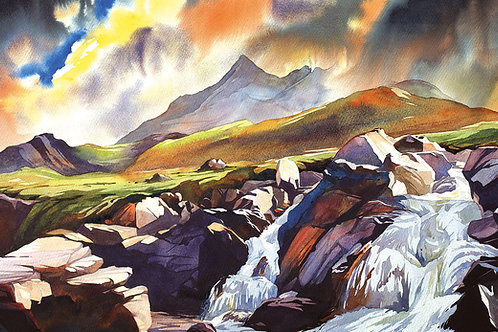 Autumn paints the Cuillin