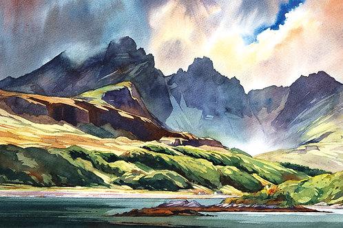 Late summer light - Blaven - Skye