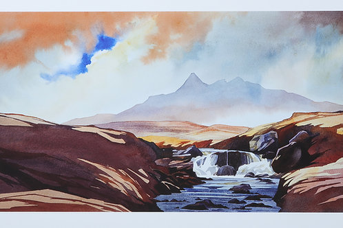 After the rain - the Black Cuillin