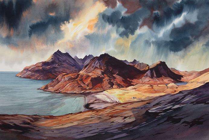 Autumn paints the Cuillin - Camasunary Bay - Skye