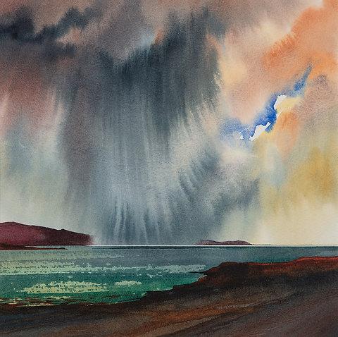 Heavy showers - Skye