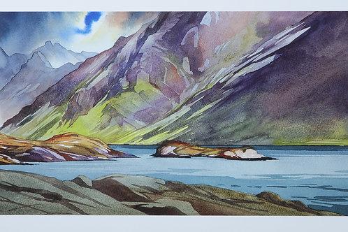 Changeable in the west - Loch Coruisk