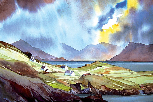 Spring showers - Aird - Skye