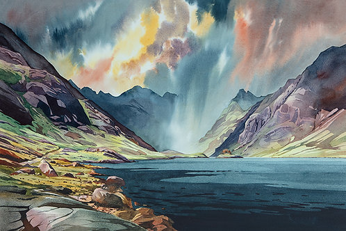 Expect some short, sharp showers in the west - Loch Coruisk - Isle of Skye