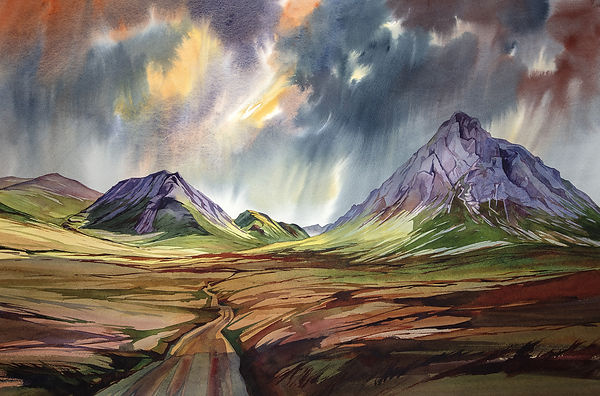Peter McDermott watercolour