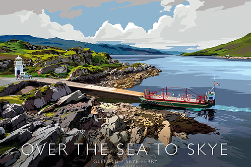 Over the sea to Skye - Glenelg-Skye Ferry