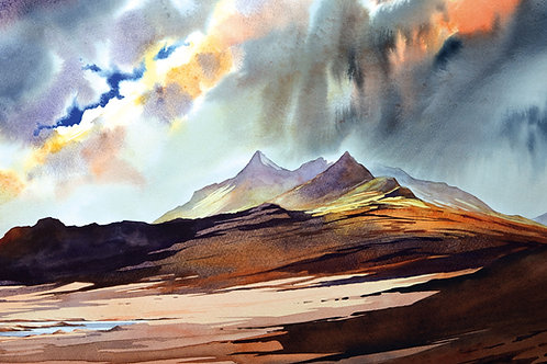 Clearing later from the West - the Black Cuillin