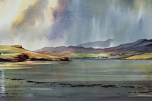 After the storm - Loch Snizort Beag