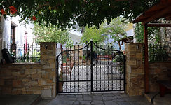 The entrance of our pension