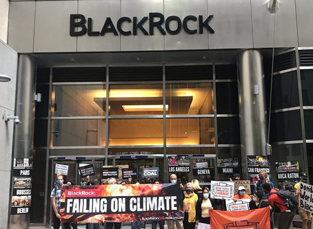 Protests at BlackRock Offices Across Europe and US as Analysis Shows BlackRock Failing on Climate